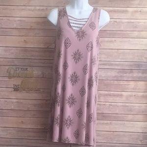 Pink Republic Lavender/Print Print Dress